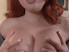 Bailey Jay Shows you how to Satisfy Her Busty Bossoms and Hard Cock